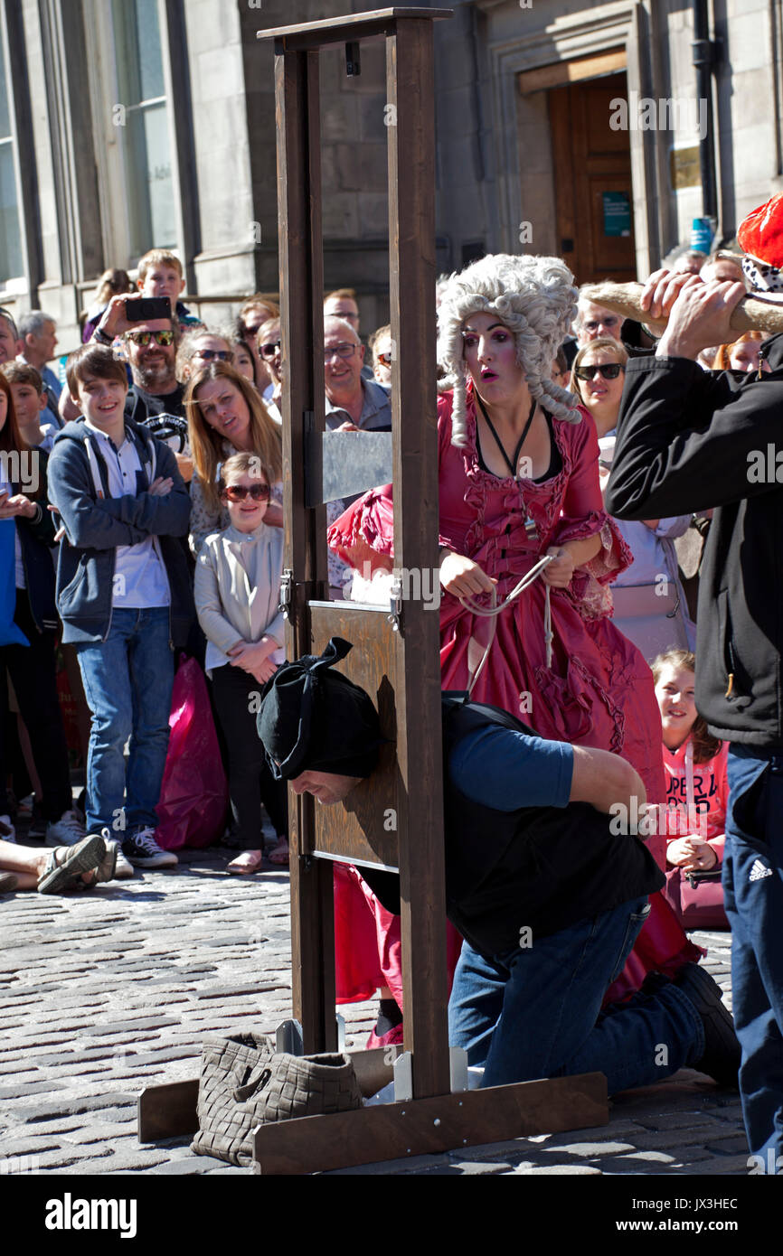 Edinburgh Fringe festival 2017, Scotland, UK - Stock Image