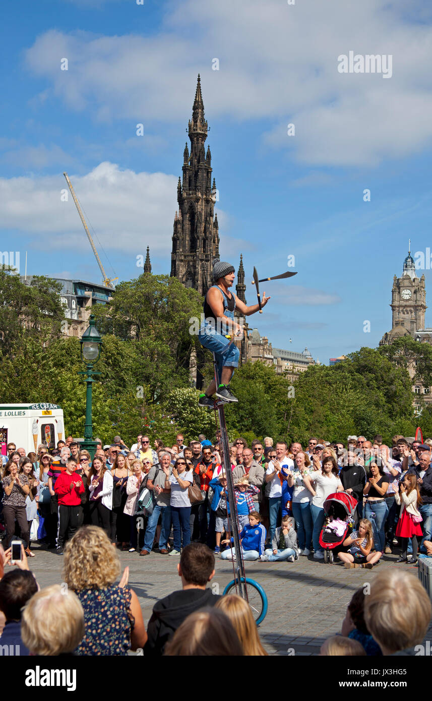 Edinburgh Fringe festival 2017, Scotland UK - Stock Image