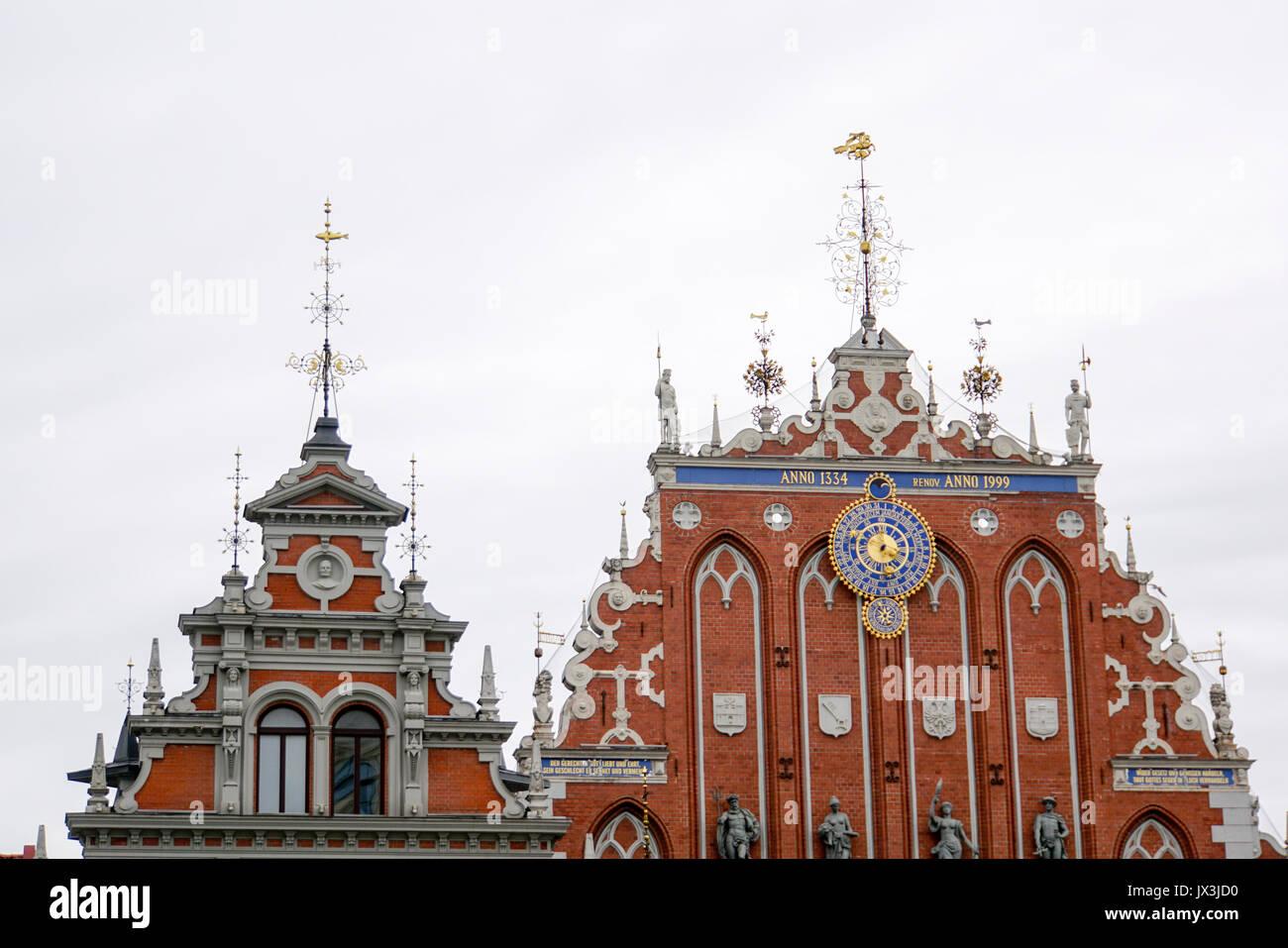 House of the Blackheads, Riga, Latvia - Stock Image