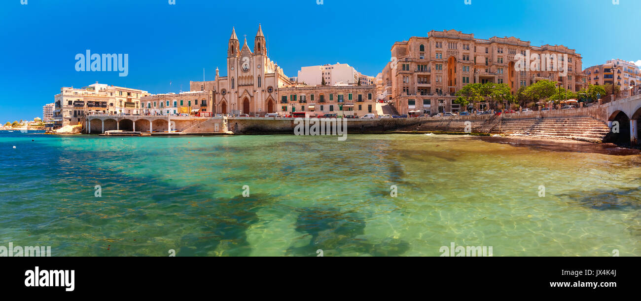 Church of Our Lady in Saint Julien, Malta - Stock Image