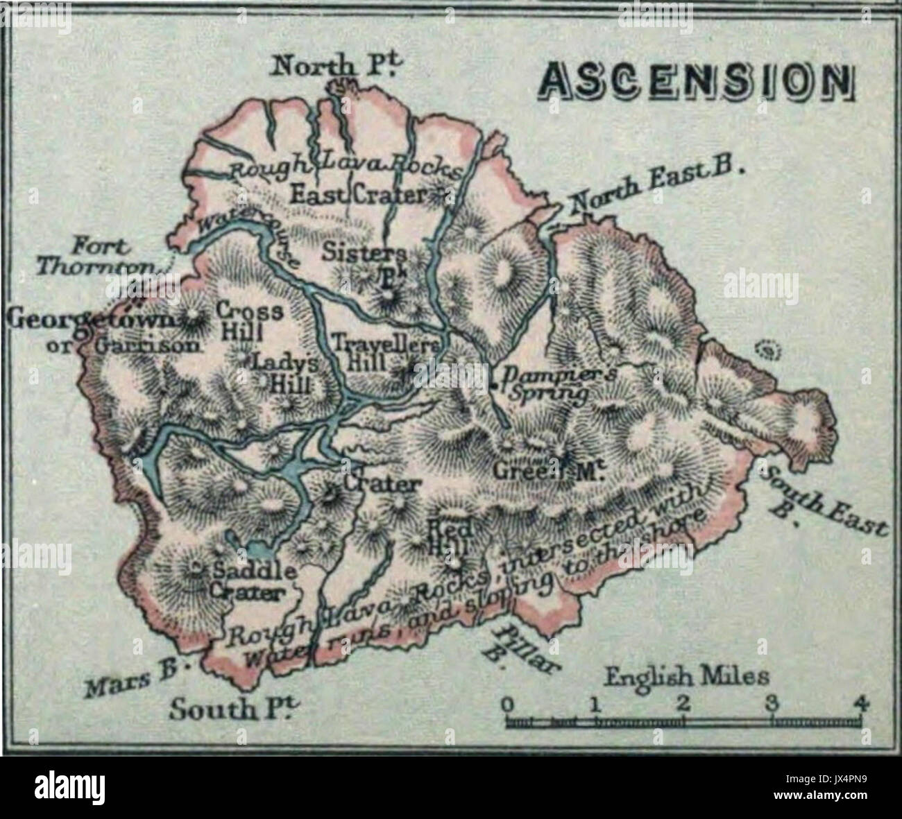 Ascension Island History Stock Photos Ascension Island History