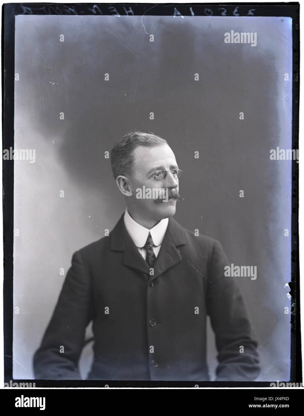 Mr Henwood, 4 Dec 1906 (16858590587) - Stock Image