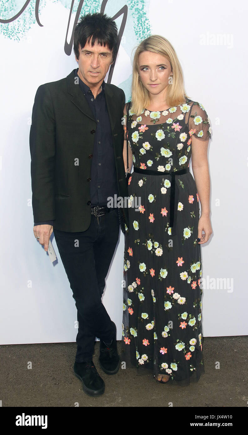 Jun 28, 2017 - Johnny Marr attending The Serpentine Galleries Summer Party 2017 at The Serpentine Gallery in London, England, UK - Stock Image