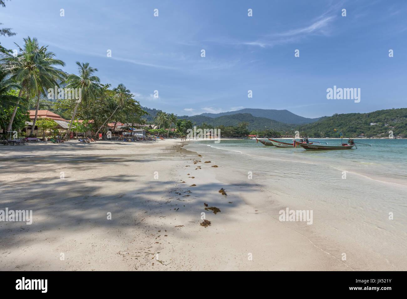 Ao Thong Nai Pan Noi Beach, Koh Phangan island, Thailand - Stock Image