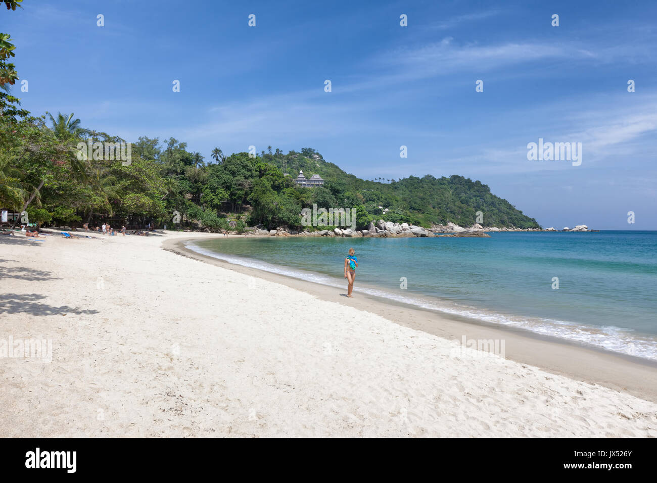 92cb0640a5d3 Thailand Island Walking Woman Stock Photos   Thailand Island Walking ...