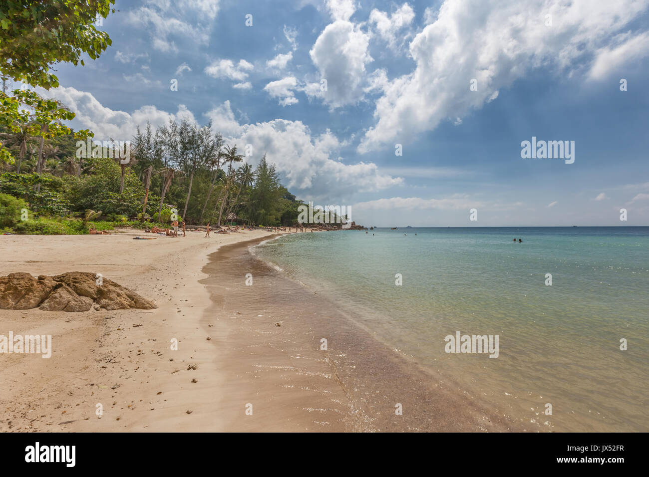 The Secret Beach, Koh Phangan island, Thailand Stock Photo