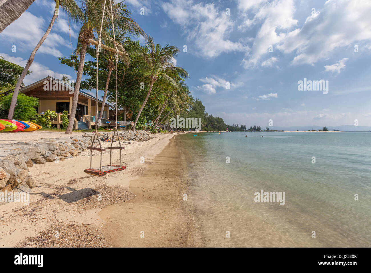 Nai Wok Bay, Koh Phangan, Thailand - Stock Image