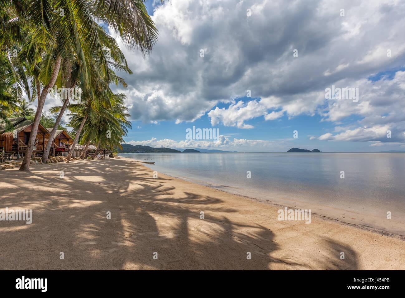 Hin Kong Beach Koh Phangan island Thailand Stock Photo