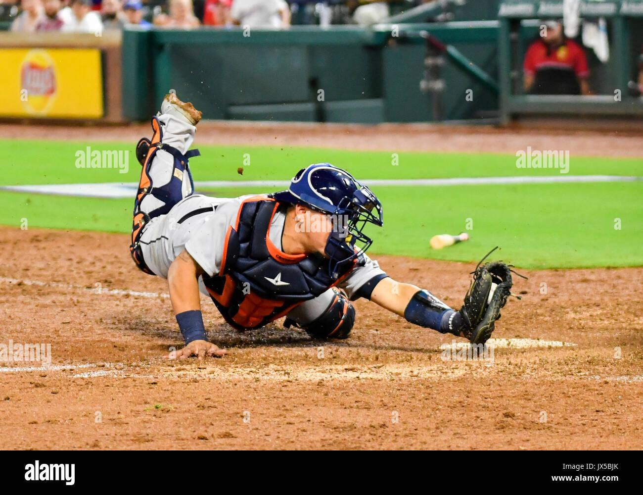 info for c00ab 7116e Aug 12, 2017: Houston Astros catcher Juan Centeno #30 dives ...