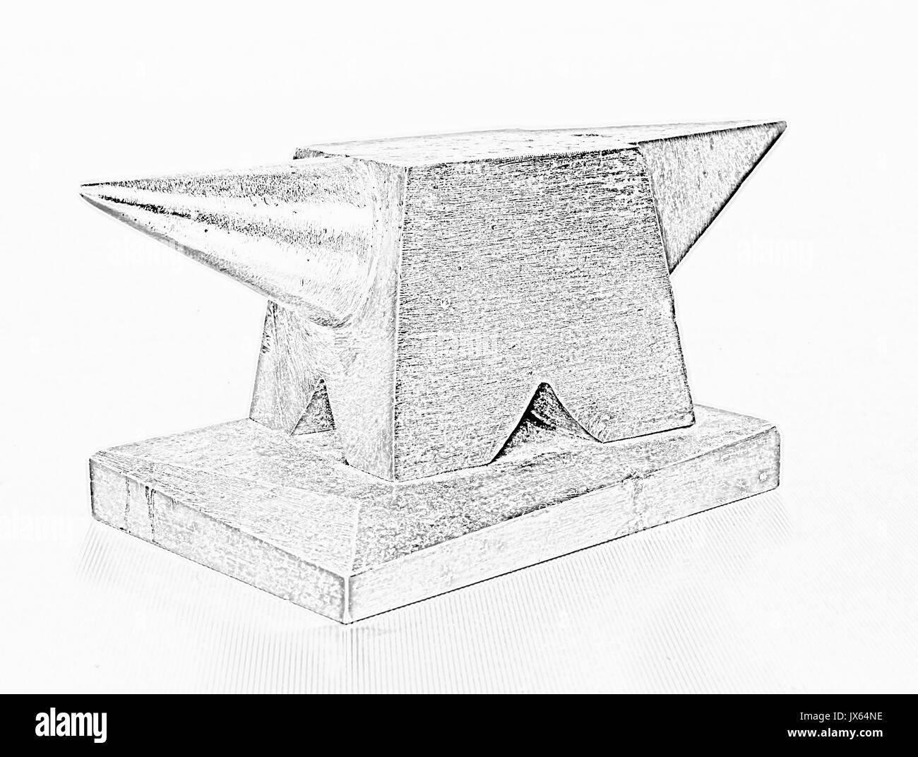 Anvil Black and White Stock Photos & Images - Alamy