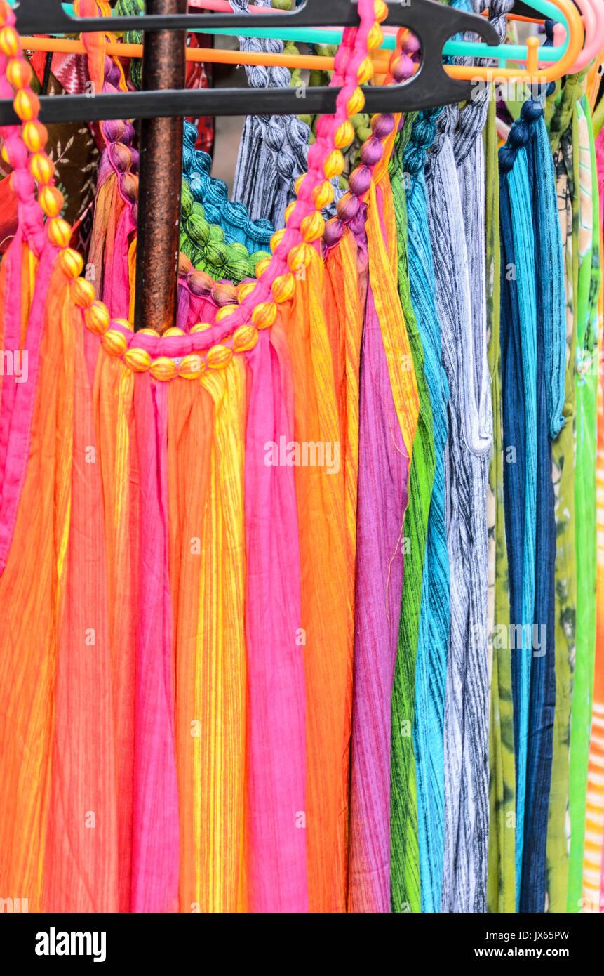 Dresses For Sale At The Ubud Traditional Market Ubud Bali Stock