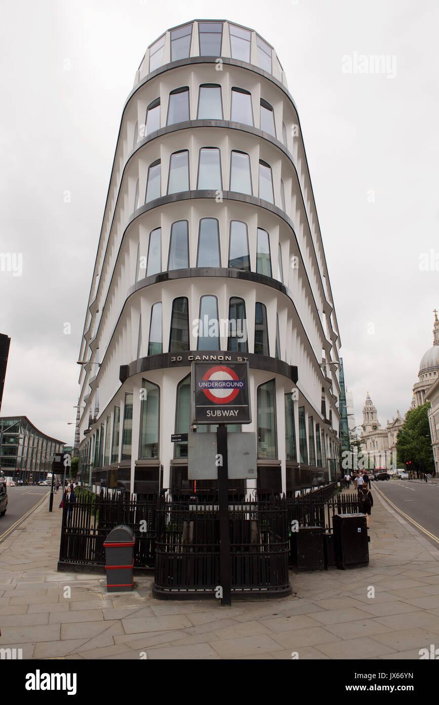 30 Cannon Street, London - Stock Image