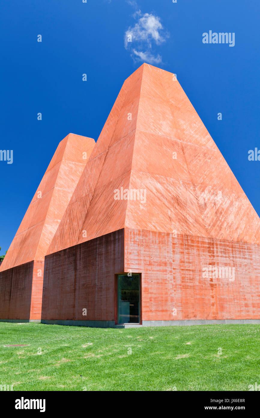 192c955d5321e Casa das Historias Paula Rego Museum, Cascais, near Lisbon, Portugal.  Designed by Eduardo Souto de Moura, the building was completed in 2009.