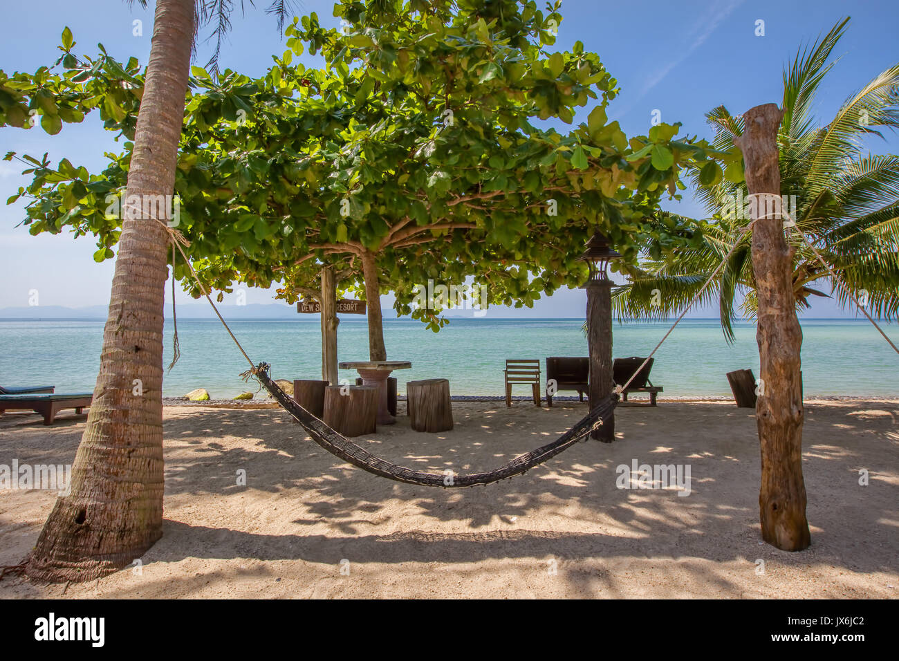 Baan Khai Beach, Koh Phangan, Thailand - Stock Image