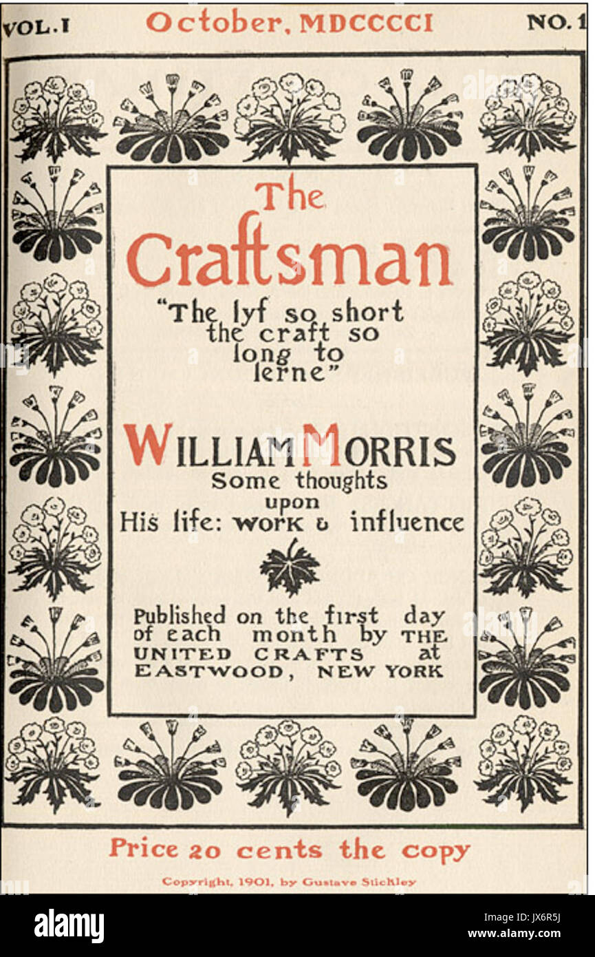 Image result for craftsman 1901 october