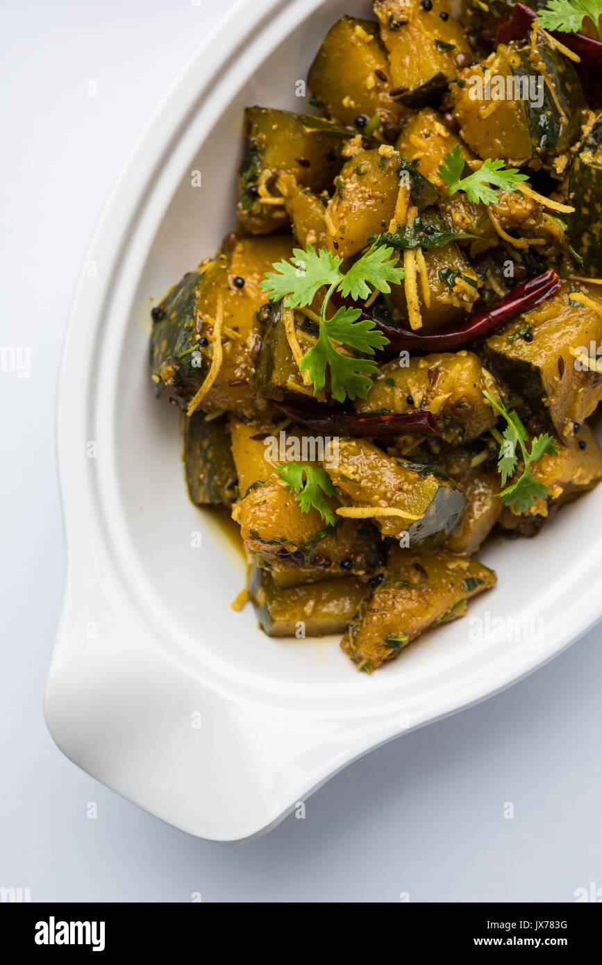 Popular indian main course vegetable pumpkin dry curry or kaddooor popular indian main course vegetable pumpkin dry curry or kaddooor kaddu ki sabzi in hindi lal bhopla chi bhaji in marathi selective focus forumfinder Image collections
