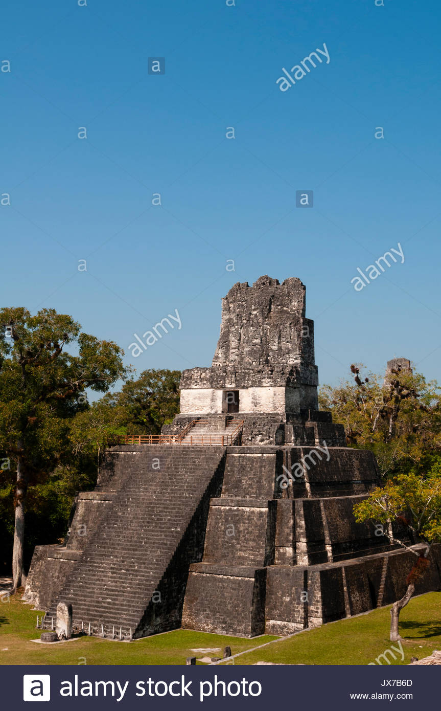 A view of Temple II. - Stock Image