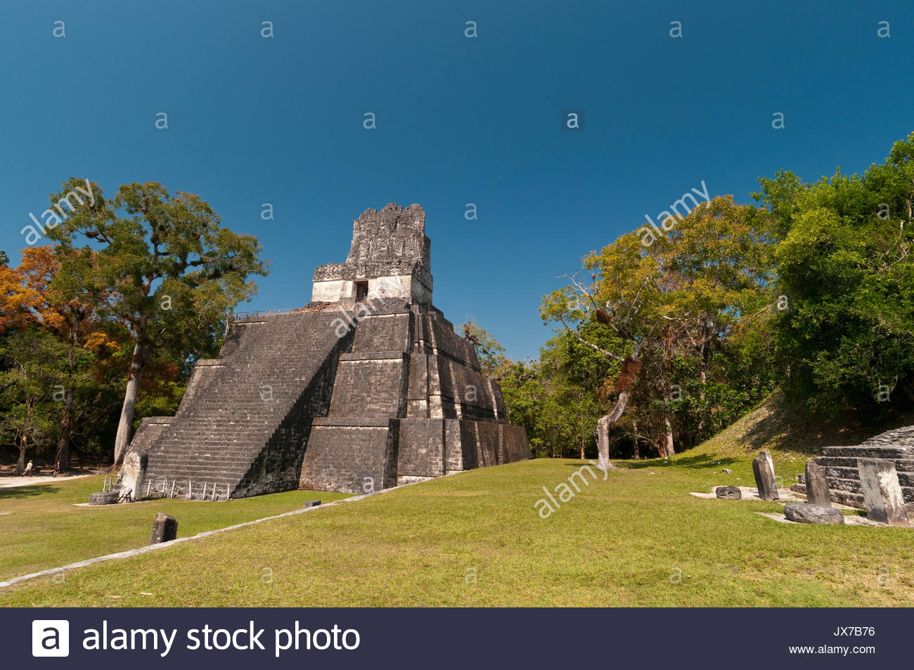 A view of the Temple II. - Stock Image