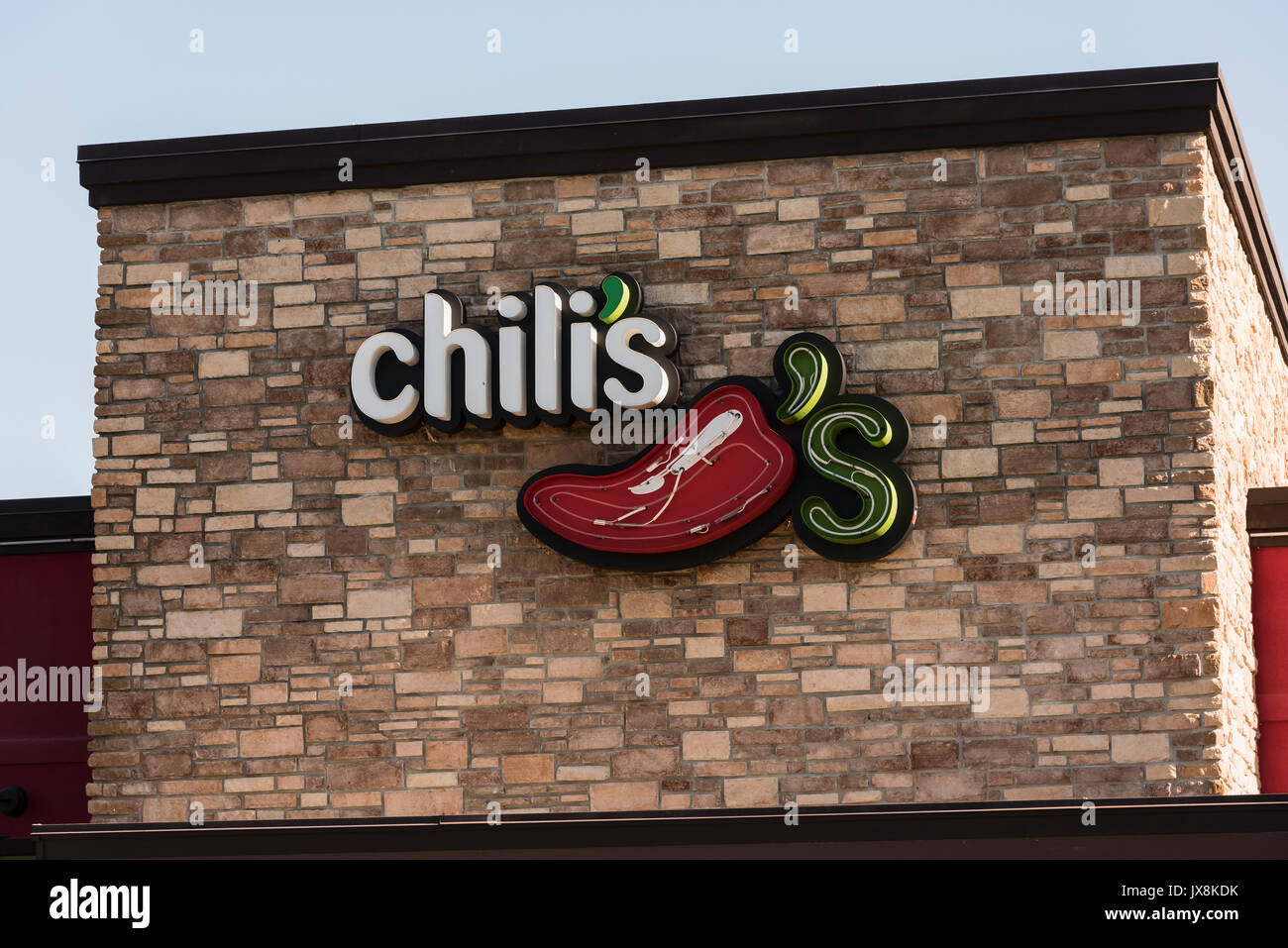Chilis Restaurant Usa Stock Photos & Chilis Restaurant Usa Stock ...