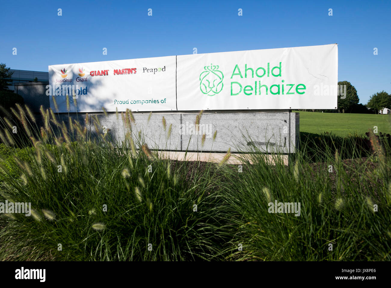 Ahold Delhaize Stock Photos & Ahold Delhaize Stock Images