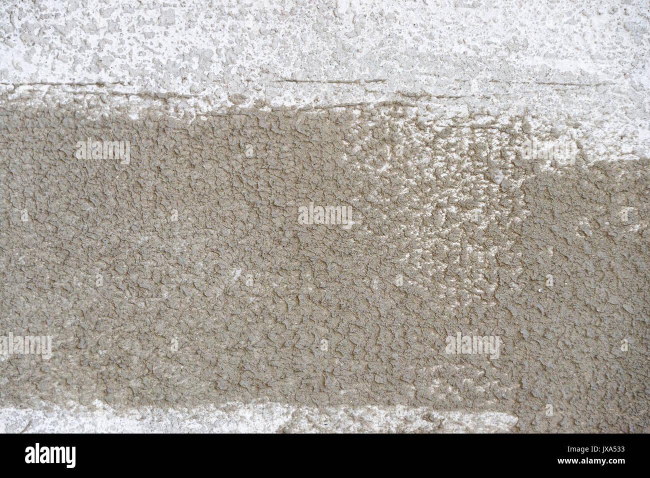 Fresh wet concrete texture. Cement wall,concrete floor for texture background. - Stock Image