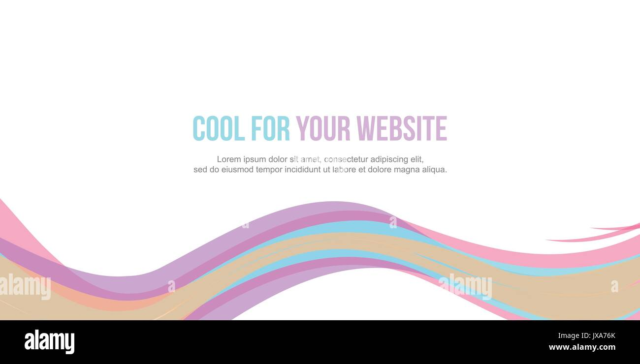 Collection abstract header website design - Stock Image