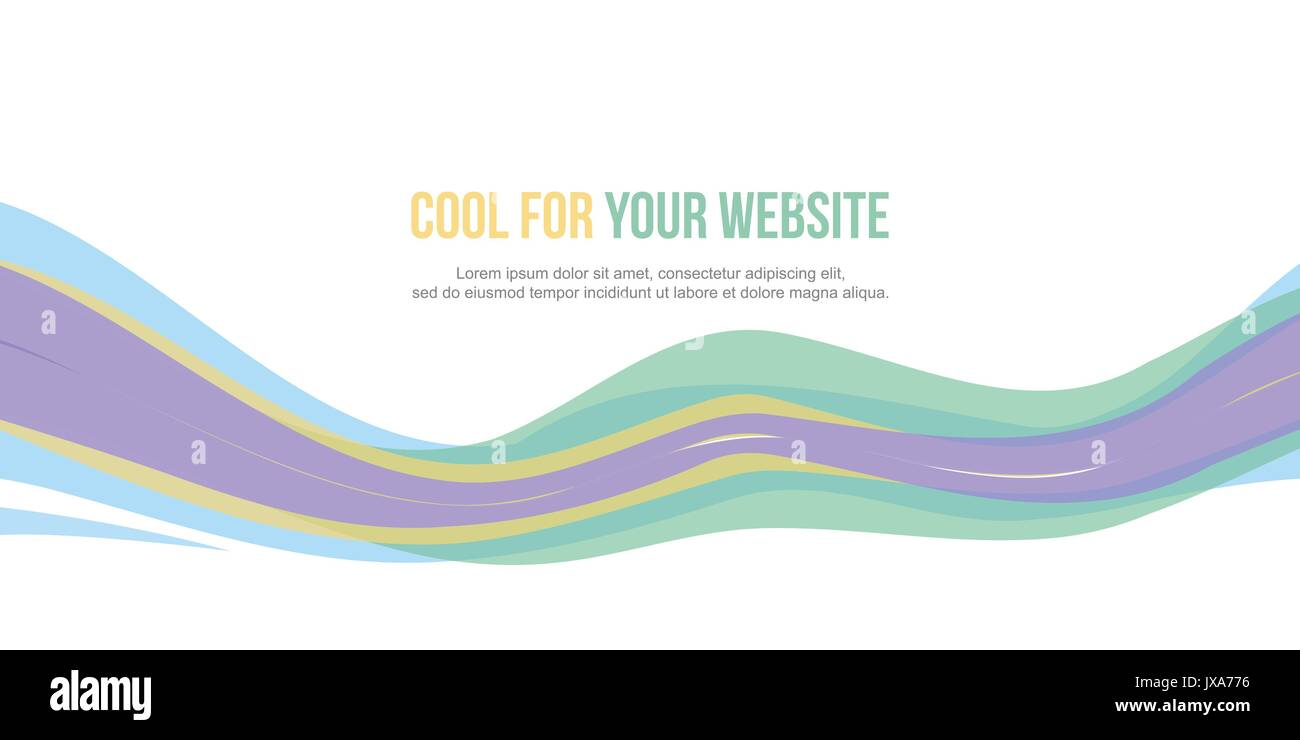 Abstract design banner website header - Stock Image