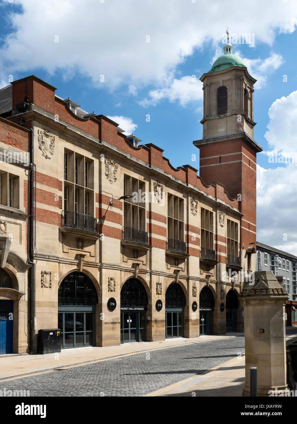 Trinity Market in Hull Hull Yorkshire England - Stock Image