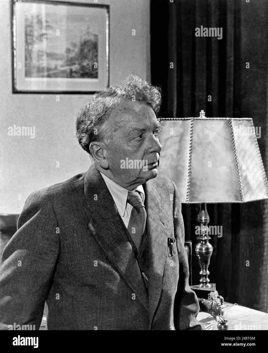 Haus des Lebens, Deutschland 1952, Regie: Karl Hartl, Darsteller: Erich Ponto - Stock Image