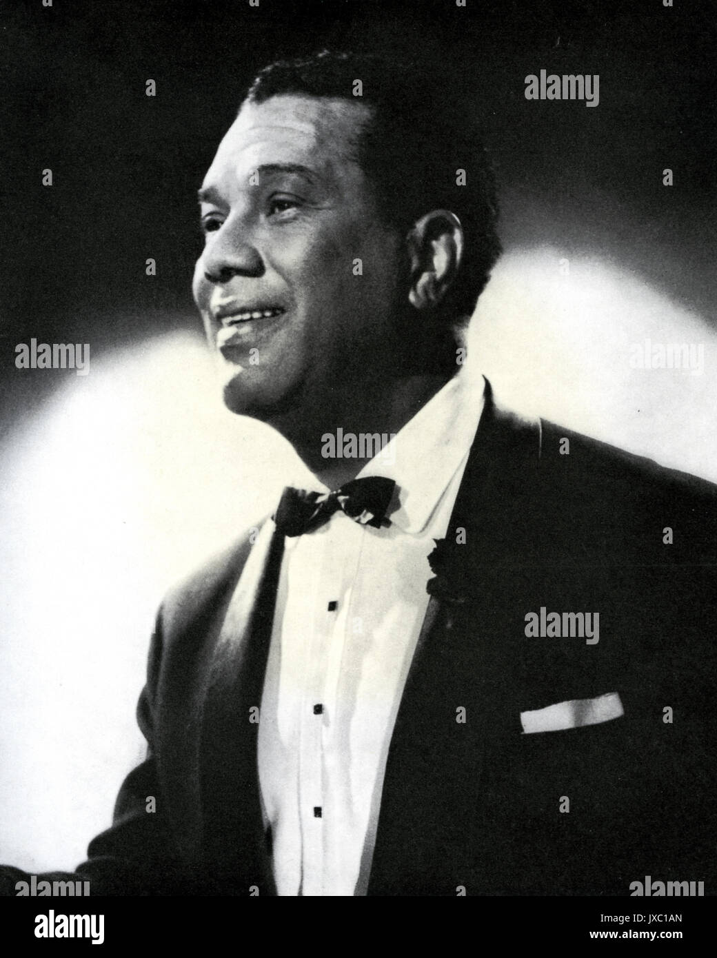 LESLIE 'HUTCH' HUTCHINSON  UK 30s/40s entertainer - Stock Image