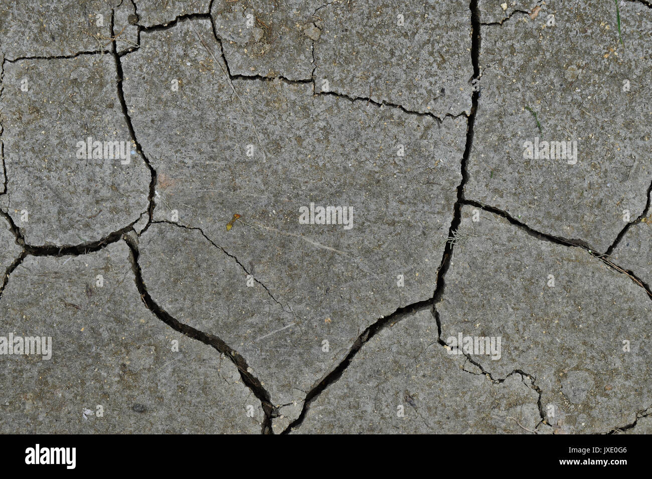 cracked mud texture with interesting shapes and cracks stock photo