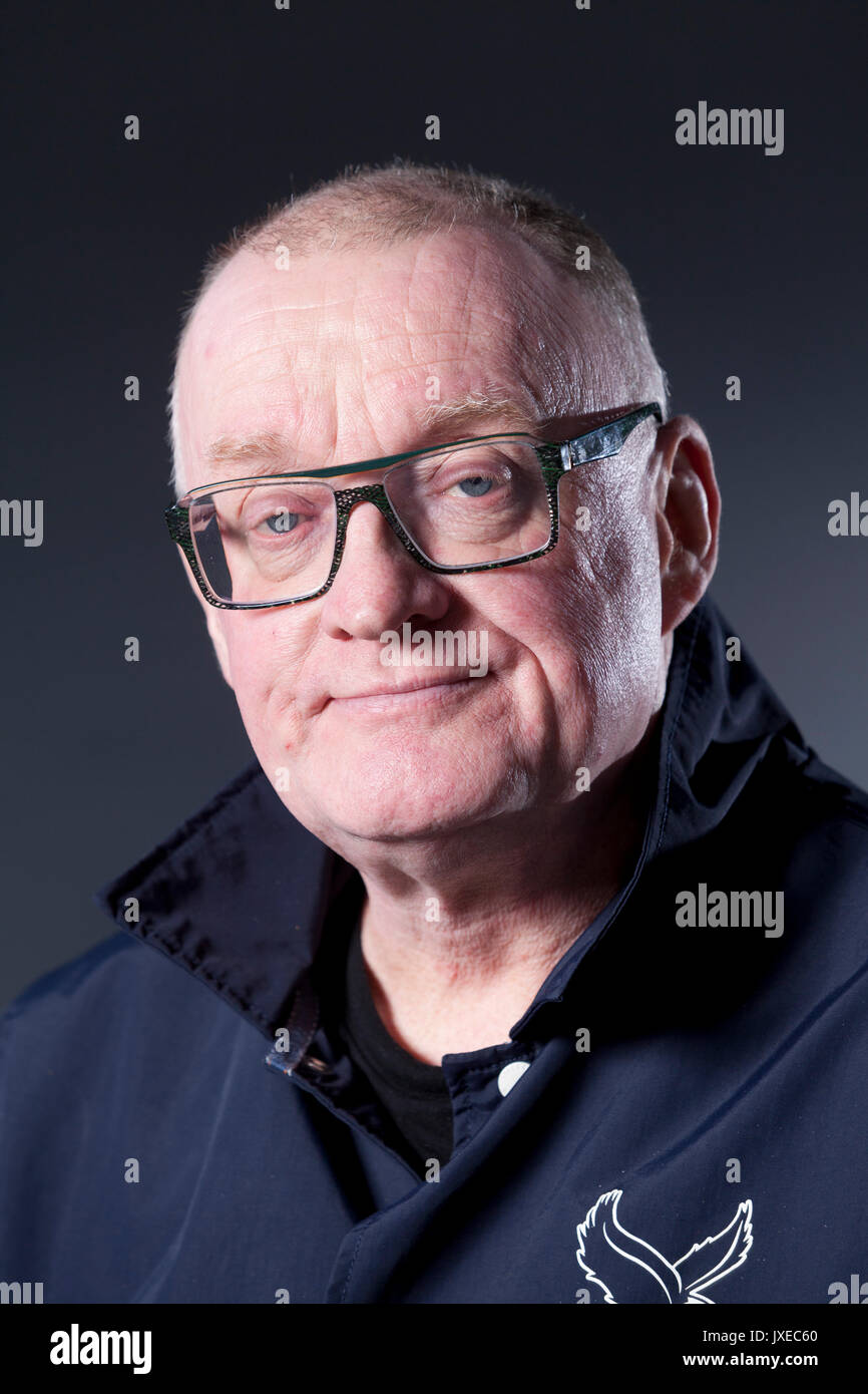 Edinburgh, UK. 15th Aug, 2017. Stuart Cosgrove, the Scottish journalist, broadcaster and television executive, appearing at the Edinburgh International Book Festival. Credit: GARY DOAK/Alamy Live News - Stock Image