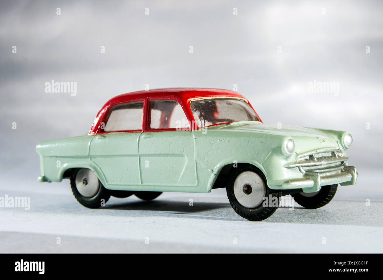 Vintage model Standard Vanguard 111 car in studio setting Stock ...