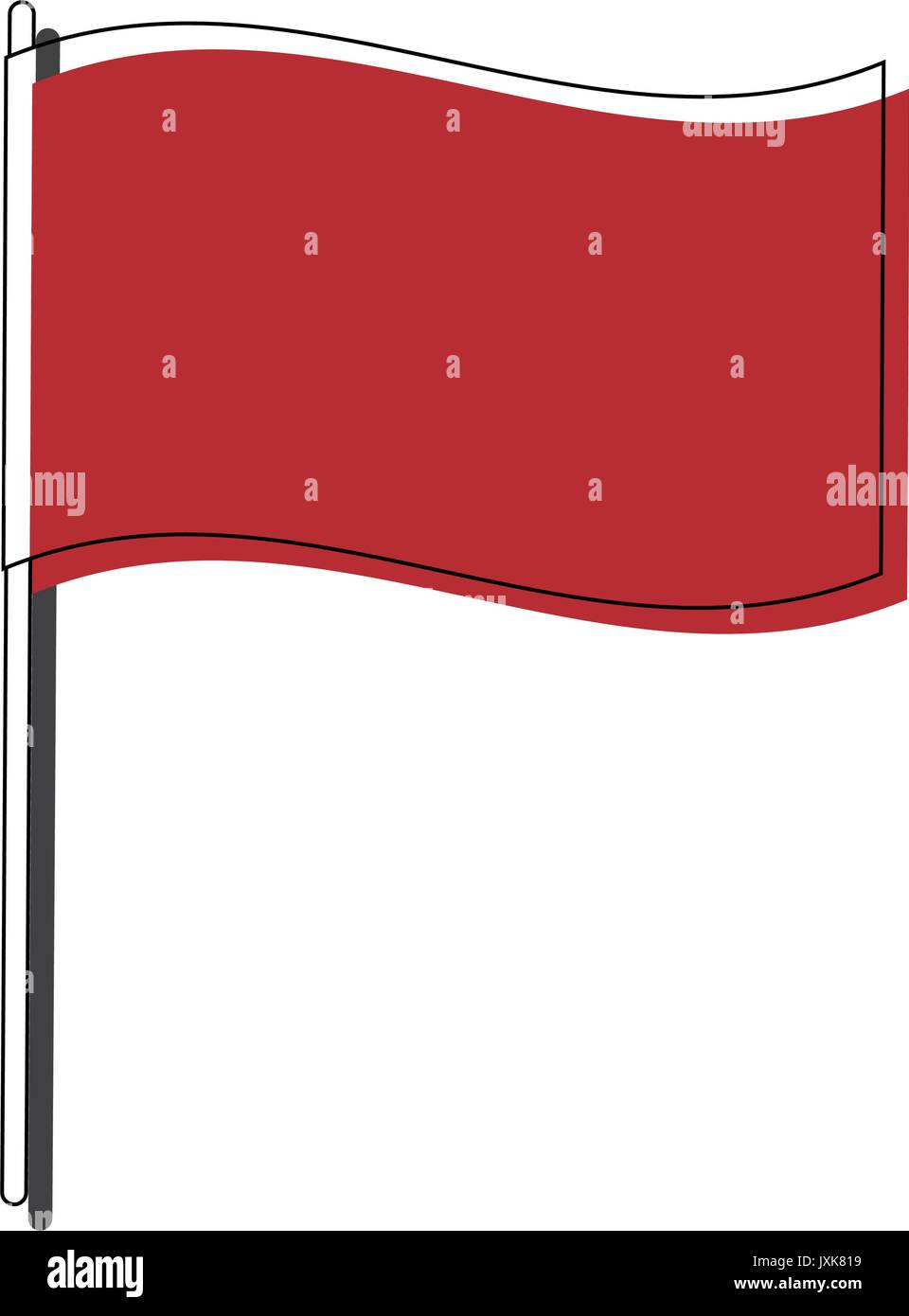 flag of nation accurate dimensions element proportions - Stock Image