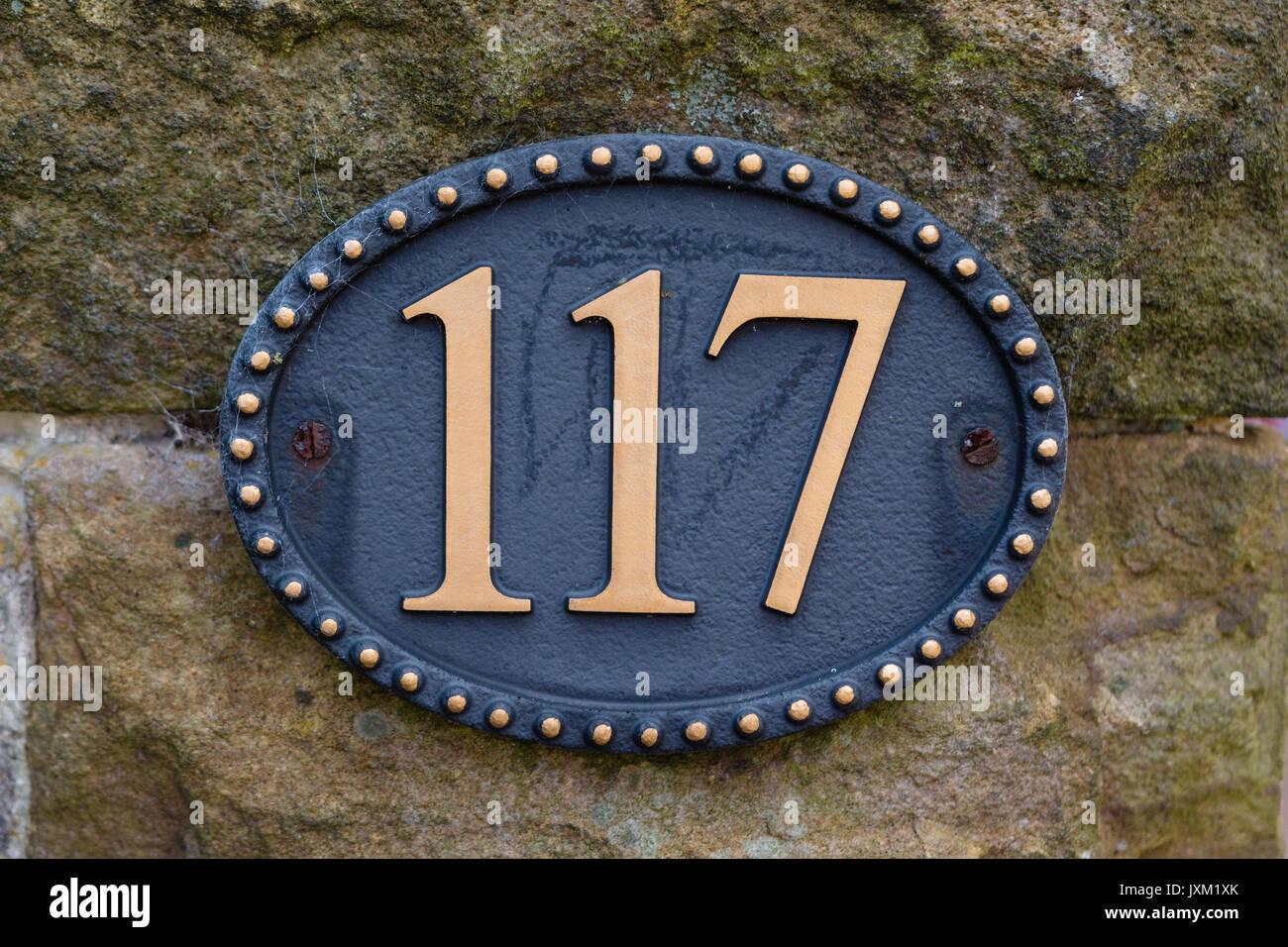 Numer 117 - Stock Image
