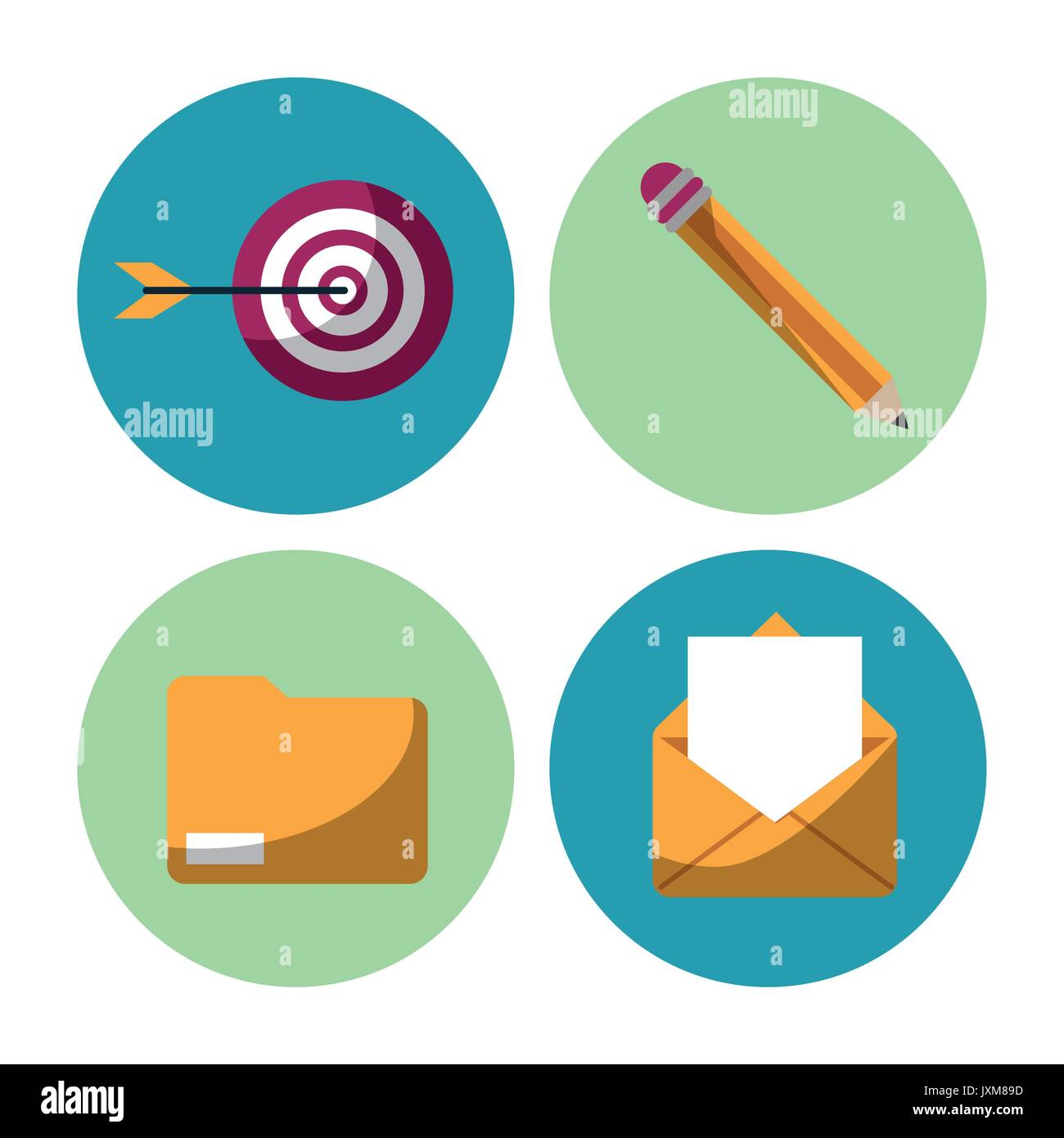 Group Collaboration Icons Stock Photos & Group Collaboration Icons ...
