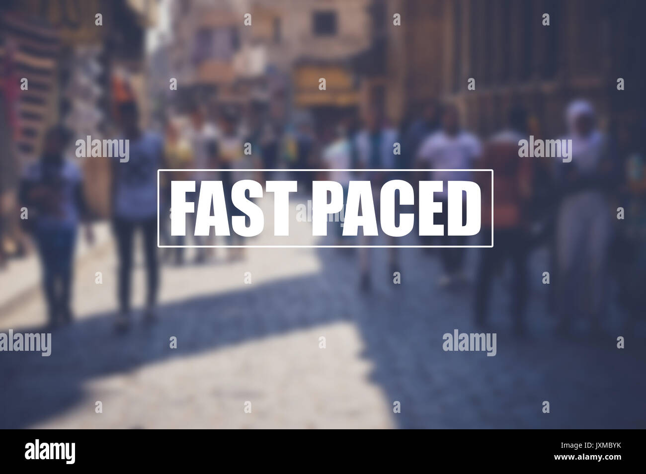 fast paced concept background - Stock Image