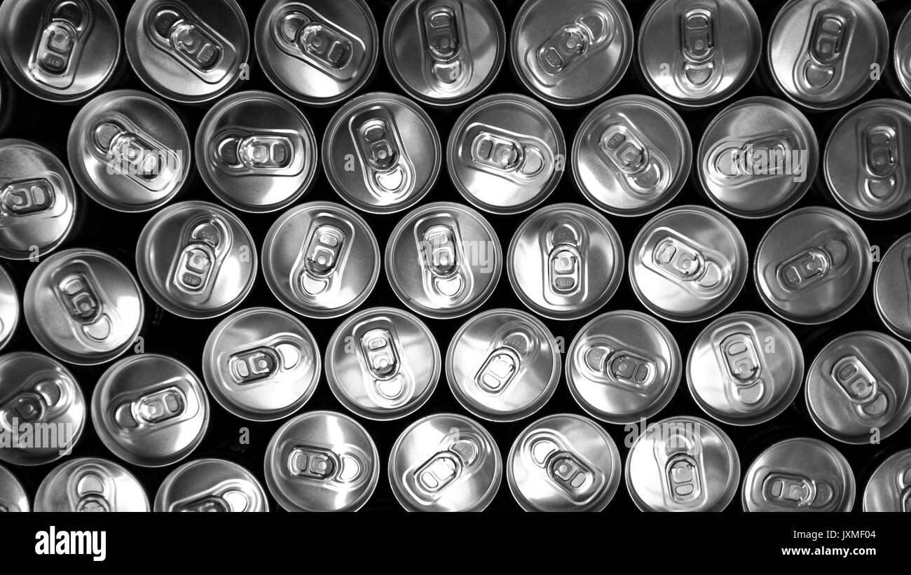 Beverage can,s background - Stock Image