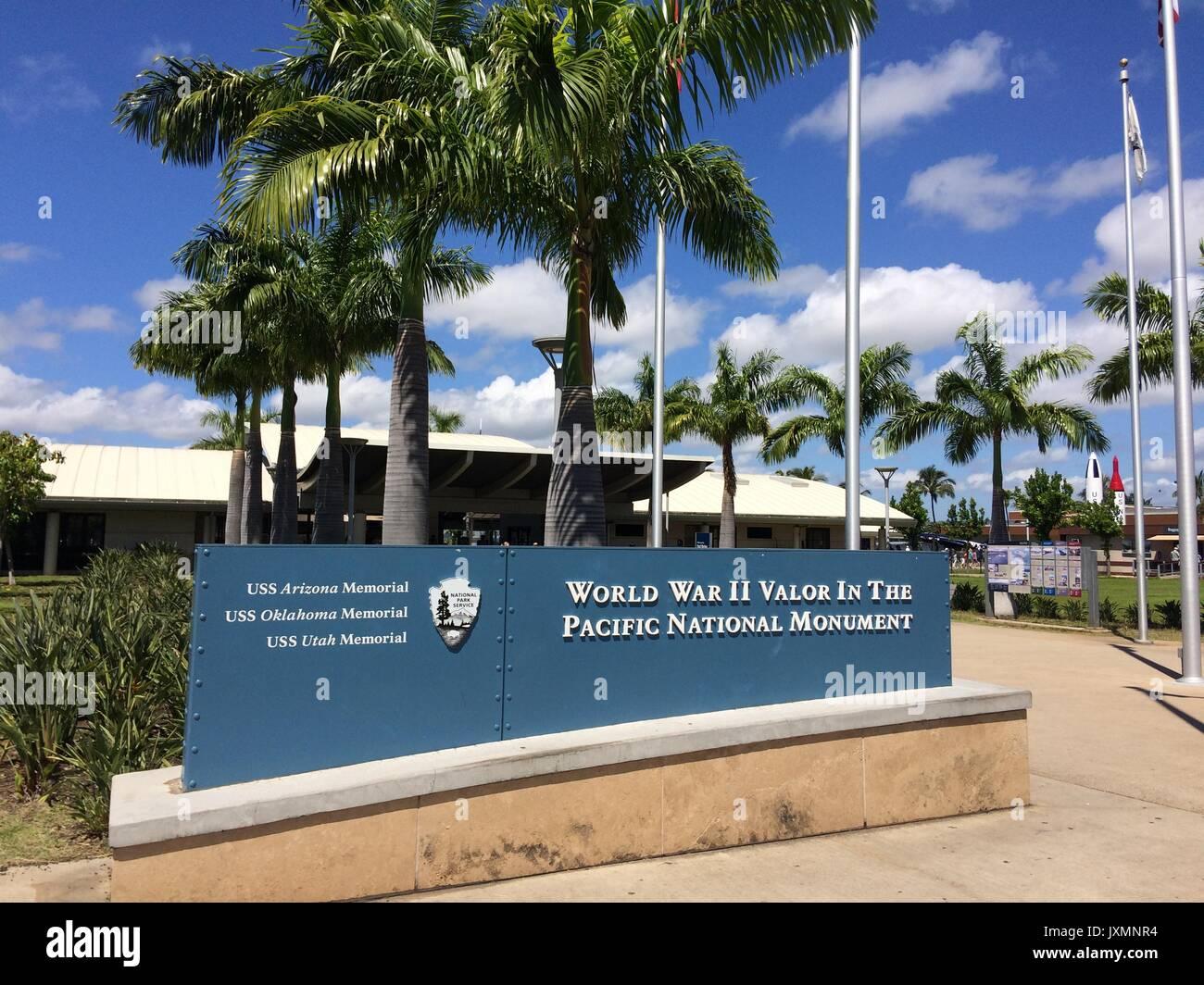 Pearl Harbor, Oahu, Hawaii, USA Stock Photo