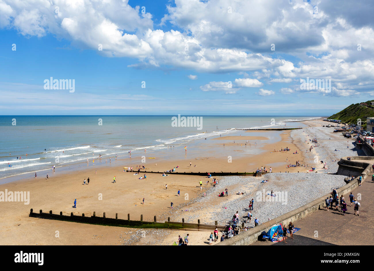 Cromer Beach, Norfolk, England, UK - Stock Image