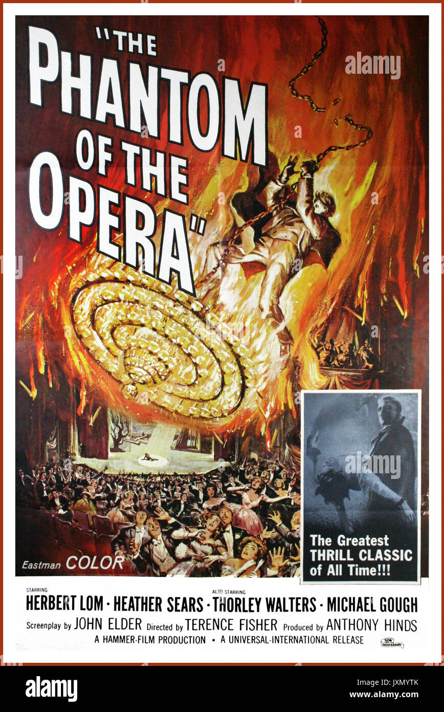 Phantom Of The Opera Poster High Resolution Stock Photography And Images Alamy