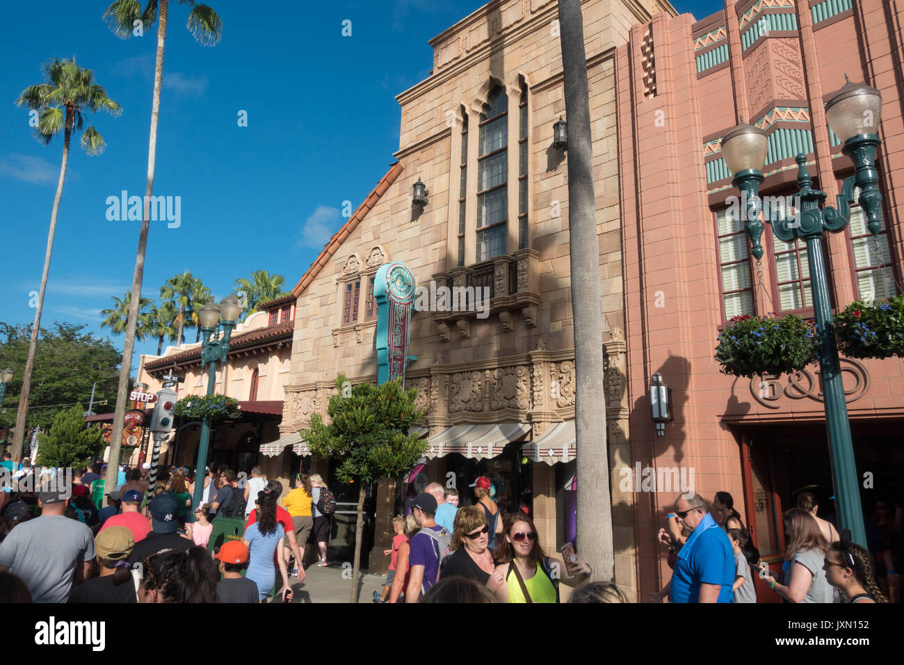 Adrian & Ediths Head to Toe in Hollywood Studios, Walt Disney World, Orlando, Florida. - Stock Image