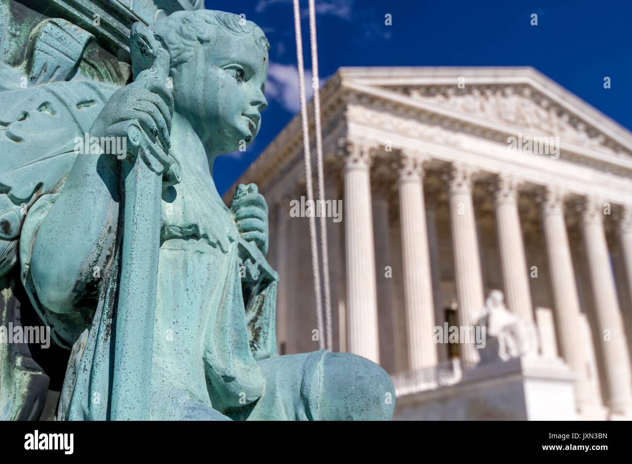 U.S. Supreme Court, Washington, D.C., U.S.A. - Stock Image
