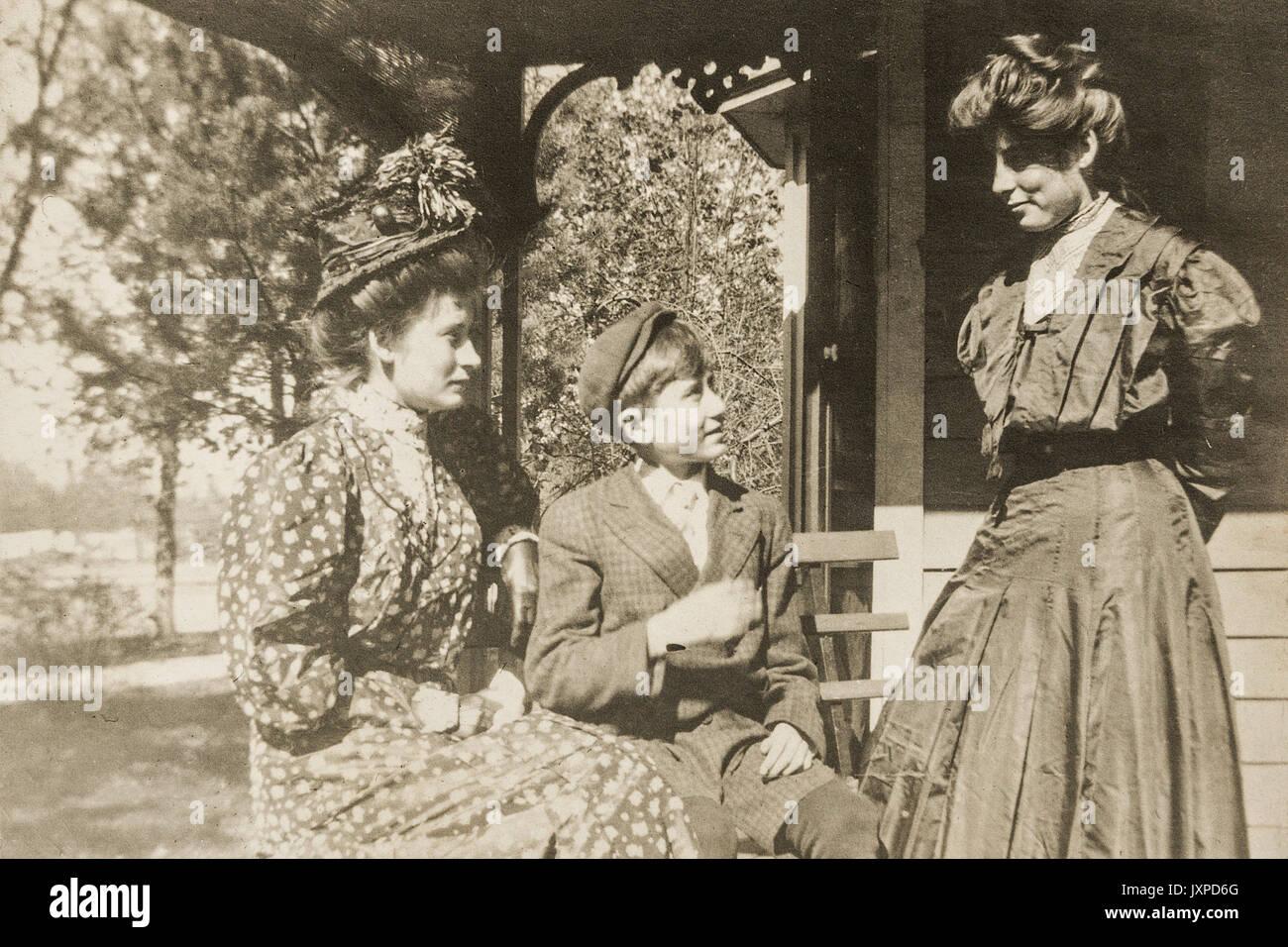 Scenes from Minnesota 1907-1908 Stock Photo