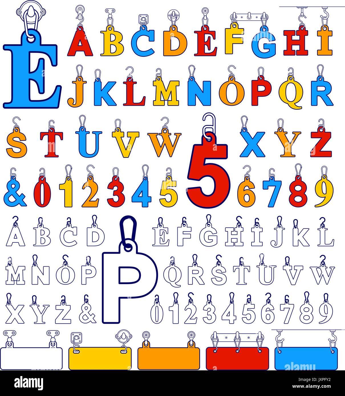 Alphabet Design Stock Photos & Alphabet Design Stock Images - Alamy