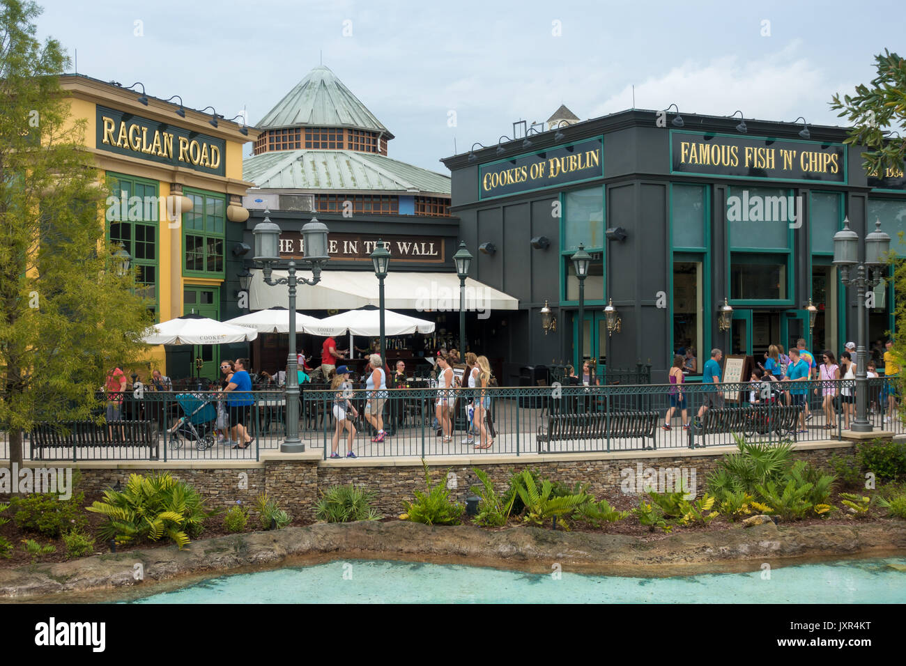 Raglan Road And Cookes Of Dublin Restaurants In Disney