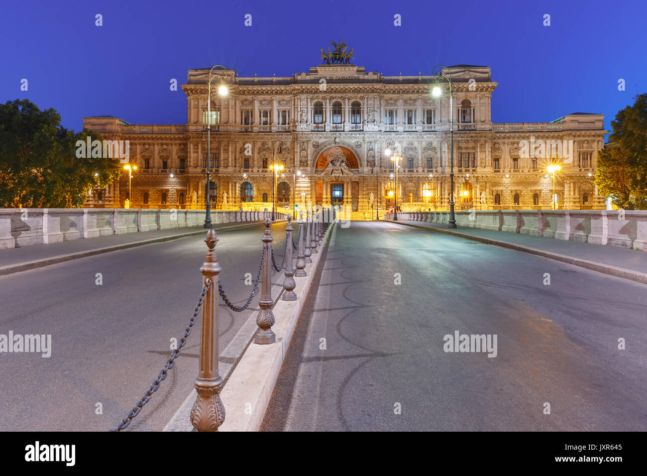 The Palace of Justice in Rome, Italy - Stock Image