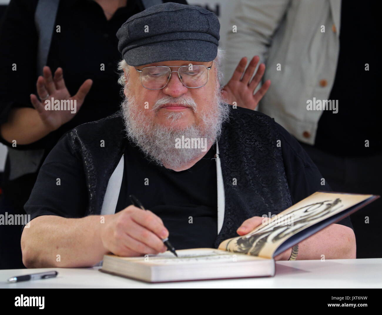 St Petersburg, Russia  17th Aug, 2017  George R R  Martin