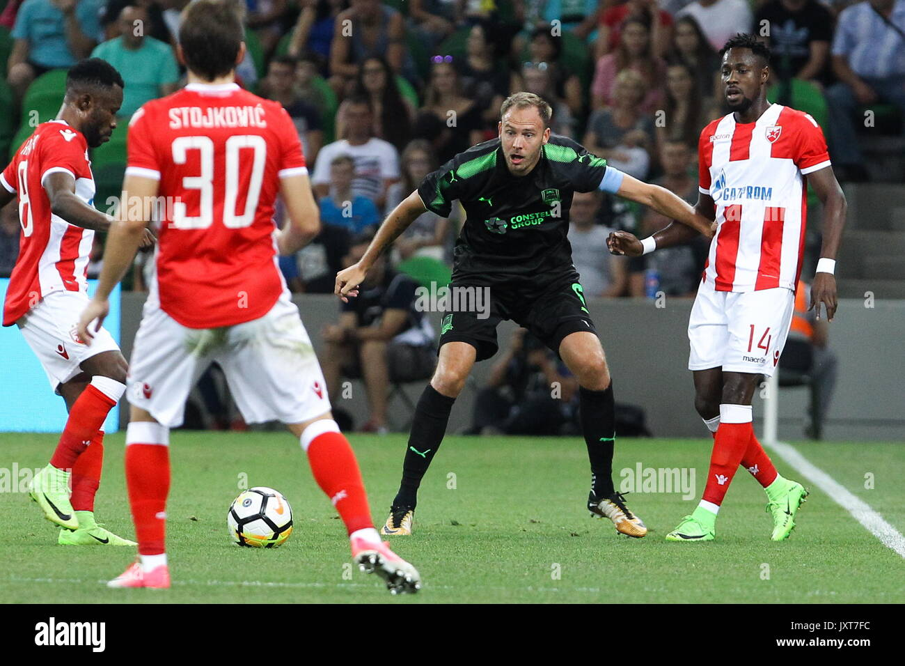 Krasnodar Russia August 17 2017 Crvena Zvezda Belgrade S Guelor Stock Photo Alamy