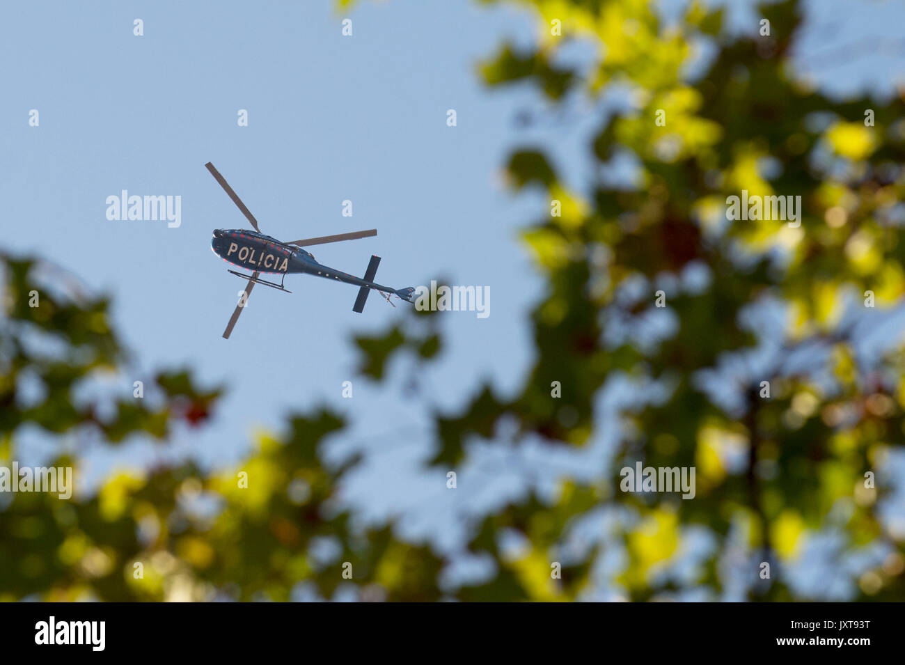 Spanish Police Helicopter Stock Photos & Spanish Police